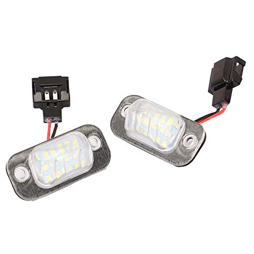 LED Kennzeichenbeleuchtung Nummernschildbeleuchte für Cordoba Golf 3 1H Ibiza 2 6K Polo Classic/Variant