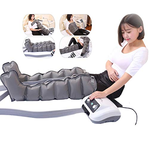 BJYX Leg Air Compression Massager Kit for Circulation Foot Calf Thigh Arms Waist Wraps Massage Helpful for Muscles Relaxation and Pain Relief
