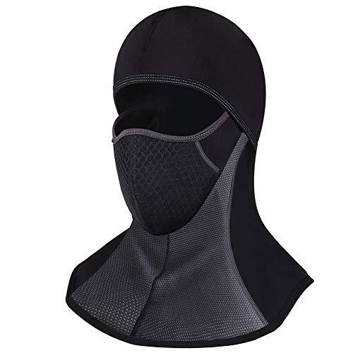 FengRui Gesichtsmaske leicht, Winddicht, atmungsaktiv, Ganzgesichtsmaske für den Winter, Winddicht, Winddicht, passend für Motorrad, Radfahren, Skifahren und Wintersport, Erwachsene Universalgröße