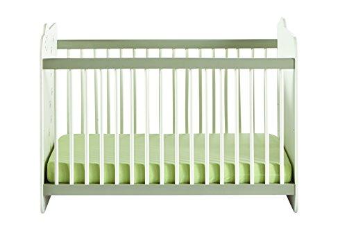 Demeyere LIT Bebe 60X120 Jungle, pin, Blanc/Beige, 123,4cmX67cm