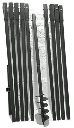 MWS-Apel 120 mm 10 Meter Erdbohrer Brunnenbohrer Handerdbohrer Erdlochbohrer Brunnenbau Pfahlbohrer brunnenbohrgerät