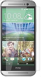 جلاس فيلم واقي شاشة صلب ضد الكسر  اتش تي سي ون ام8 2014 شفاف HTC ONE M8 screen protector