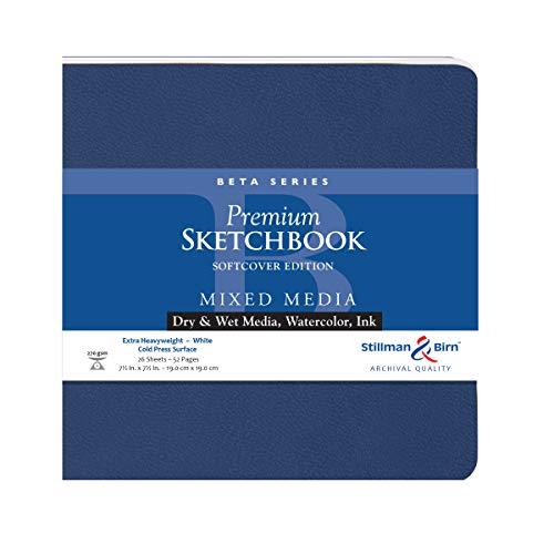 Stillman & Birn Beta Series Softcover Sketchbook, 7.5