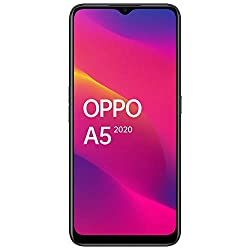 OPPO A5 2020 (Mirror Black, 4GB RAM, 64GB Storage) with No Cost EMI/Additional Exchange Offers,OPPO,CPH1933