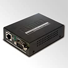 Planet Technology USA ICS-100 RS-232 / RS-422/ RS-485 to 10/100TX Media Converter