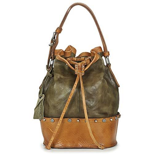 airstep / a.s.98 Rista Handtaschen Damen Kaki/Braun - Einheitsgrösse - Umhängetaschen Bag