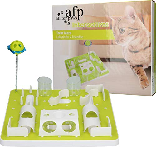 ALL FOR PAWS AFP Interactive Treat Maze