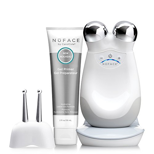 NuFACE PRECISION Facial Toning Kit | Trinity Facial Trainer Device + Effective Lip + Eye Attachment | Skin Care Device to Lift Contour Tone Skin + Reduce Look of Wrinkles | FDA-Cleared At-Home System