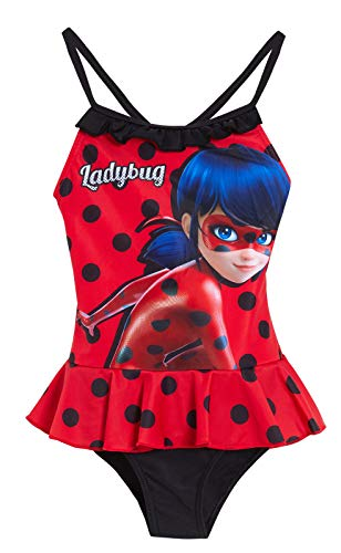 Miraculous Girls Ladybug Swimming Costume Red 4 Years