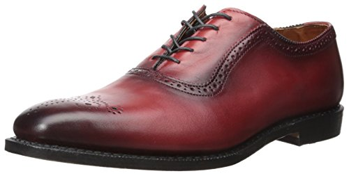 Allen Edmonds Men's Cornwallis Oxford, Red Leather, 10.5 D US