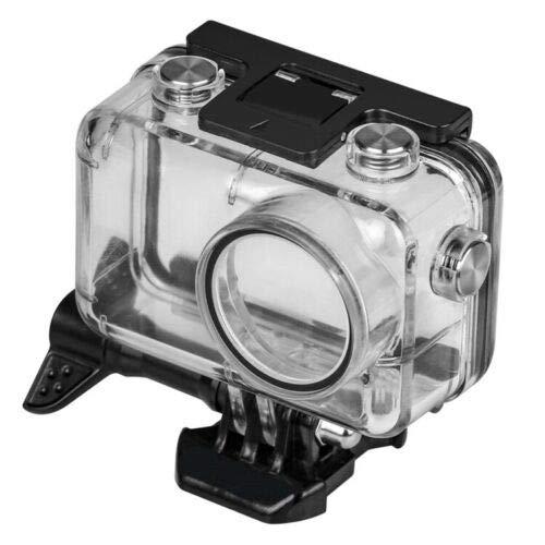 Yangers 40 m wasserdichtes Schutzgehäuse für DJI OSMO Action-Kamera, Silikon-Unterwasserschutz Käfigabdeckung Zubehör