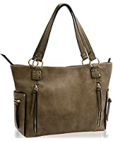 Women Handbags Shoulder - Hobo - Tote - Bags Fashion Ladies Top Handle Satchel Bags PU Leather Large Capacity Bag