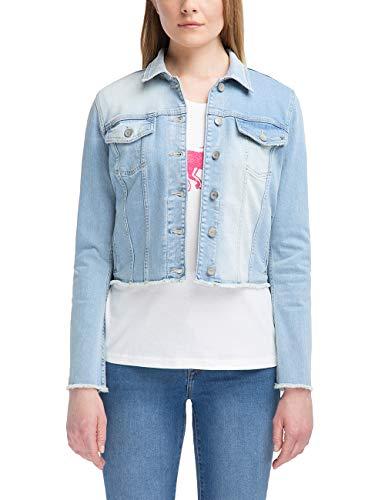 MUSTANG Damen Slim Fit Open Hem Denim Jacket Jeans