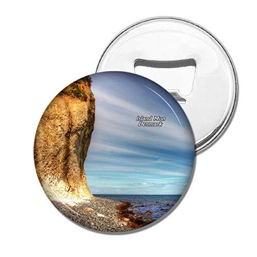 Weekino Dänemark Insel Mo. Bier Flaschenöffner Kühlschrank Magnet Metall Souvenir Reise Gift