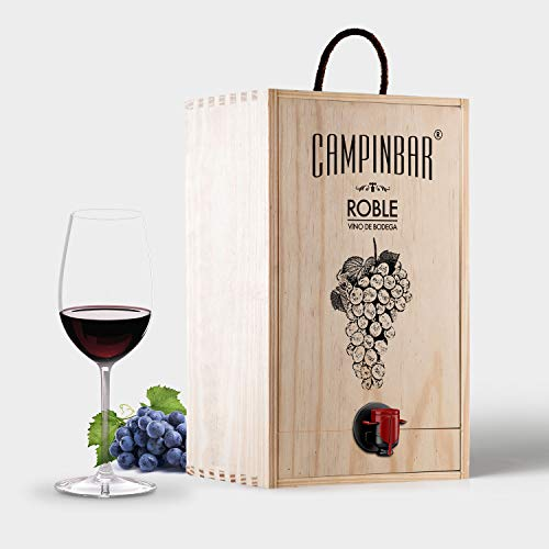 Bag in box 5L vino tinto de bodega Roble Garnacha 12 meses en barrica