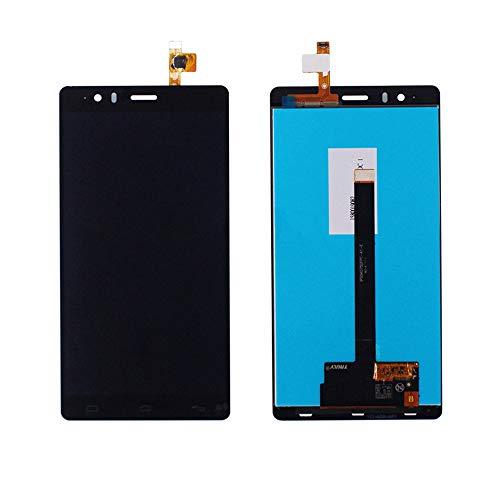 JayTong - visualización LCD y digitalizador de visualización táctil de Repuesto para BQ Aquaris E6 IPS5K0750FPC-A1-E 0750 Negro
