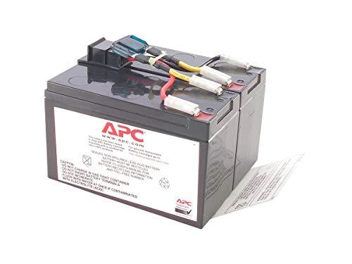 APC RBC48 batería de sustitución para UPS, compatible con los modelos SMT750I / SUA750I y otros