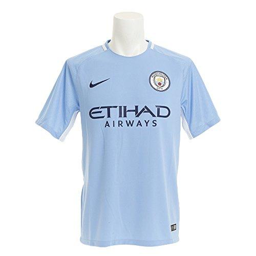 Nike Herren Breathe Manchester City FC Stadium Trikot, Field Blue/Midnight Navy, M