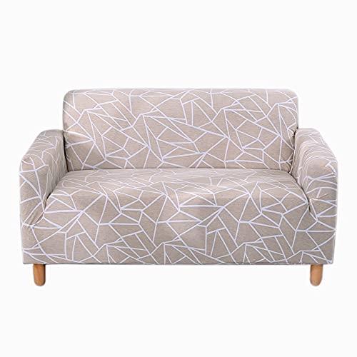 Funda de sofá elástica Fundas de sofá para Sala de Estar Funda de sofá Funda de sofá Proteger Muebles A29 4 plazas