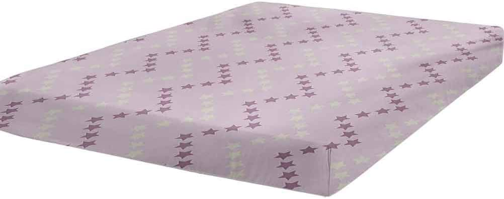 Mauve Fitted Sheet Twin Size Zig Striped Pa Washington Mall Zag Colorado Springs Mall in Stars Pattern
