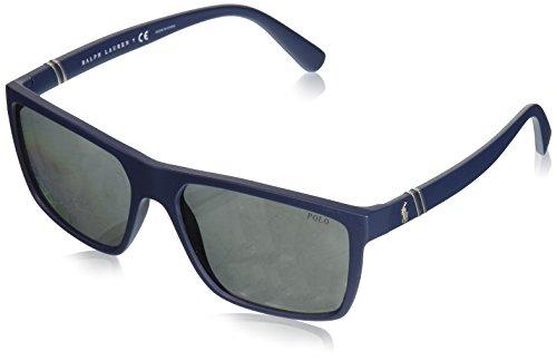 Polo Ralph Lauren heren 0Ph4133 56186G 59 zonnebril, (Navy blauw