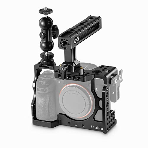 SMALLRIG Cage Kit Rig para A7RIII, Cage con Camera Top Handle y Magic Arm para Sony A7RIII / A7III - 2103