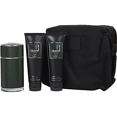 DUNHILL ICON RACING EDP 100ML + GEL BAÑO 90ML + AFTER SHAVE 90ML + NECESER
