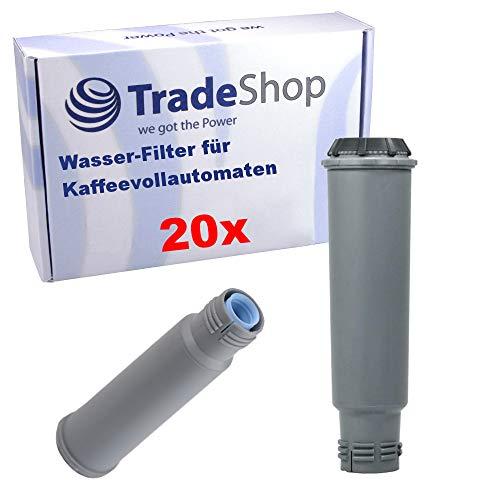 Trade-Shop 20x Wasser-Filter für Bosch Benvenuto B20 B30 B40 B60 B65 B7 TCA6401 TCA6709 TCA6001 TCA6301 TCA6701 TCA5601 TCA5608 TCA5609 TCA5809 TCA6801