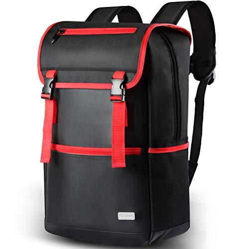Laptop Rucksack Damen Herren, 18 Zoll Notebook Rucksack Business Lässiger Daypack, Wasserabweisende Studenten Backpack Schulrucksack für College Schul/Schüler/Reisen Outdoor