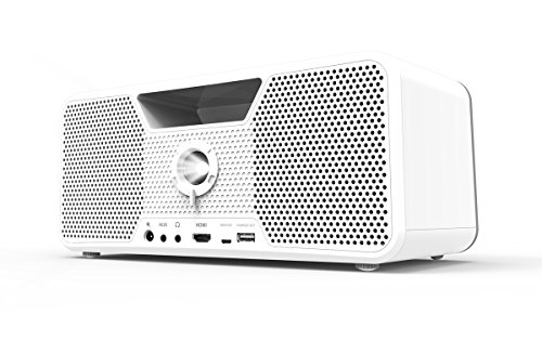 Aiptek Flicks 140 700lúmenes ANSI DLP WXGA (1280x800) Portable Projector Color Blanco - Proyector (16:9, 482,6 - 3048 mm (19 - 120