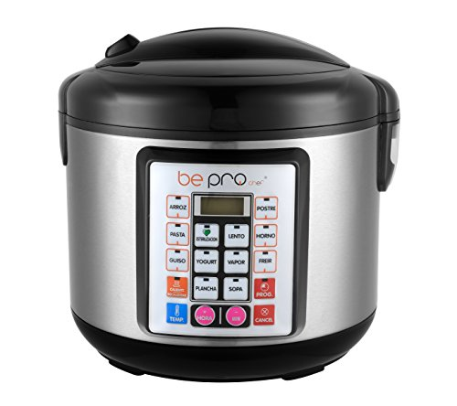 Robot Cocina Programable Be Pro Chef Premier Plus Avant Olla