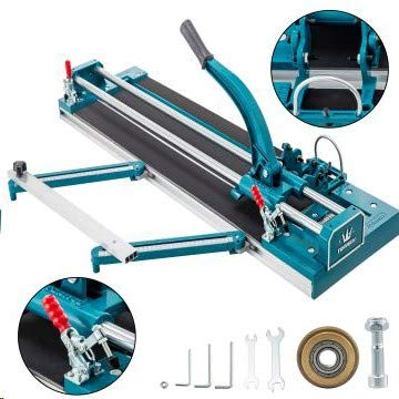 Mophorn Cortadora de Azulejos 35-1200 mm Cortador de Azulejos Manual Cortadora de Cerámica con Láser Máquina para Cortar Azulejos