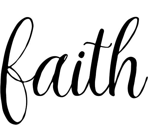 Faith - Vinilo adhesivo de Pinterest Aforism Religion Jesús