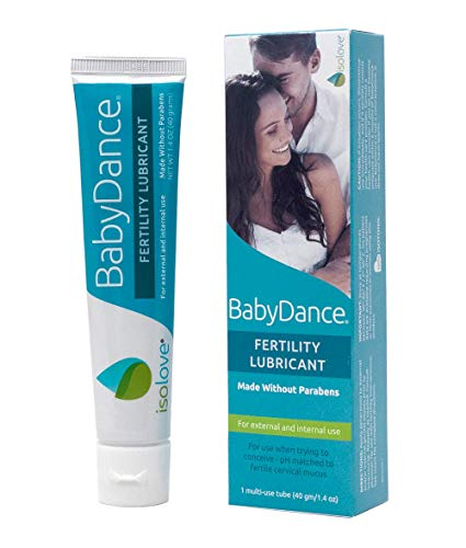 BabyDance Fertility Lubricant: Sperm-Friendly Lube Made Without Parabens - 40 Gram Multi-Use Tube with No Applicators
