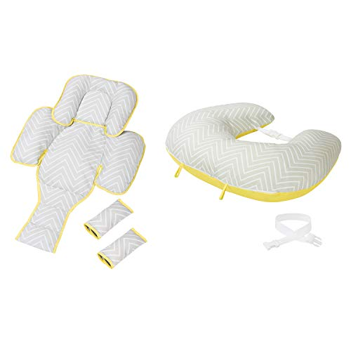 Clevamama Clevacushion 10in1 Nursing Pillow - Maternity and Baby Cushion (Foam, Multicolored)