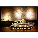 HENG LONG RC Tank German King Tiger Henschelturm Caja de Cambios metálica 1:16 Pro