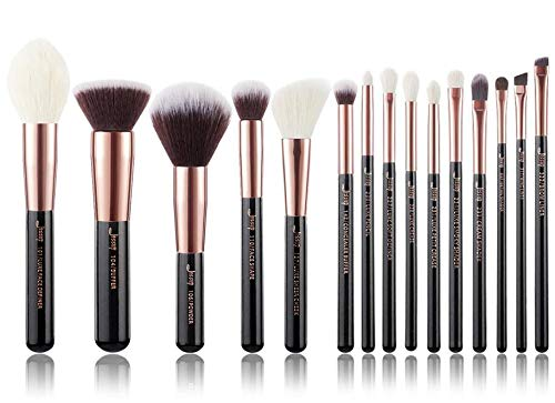 Gift Or rose/noir Brosse de maquillage (Handle Color : T160(15PCS))