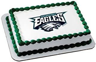 1/4 Sheet ~ NFL Philadelphia Eagles Football ~ Edible Image Cake/Cupcake Topper!!!