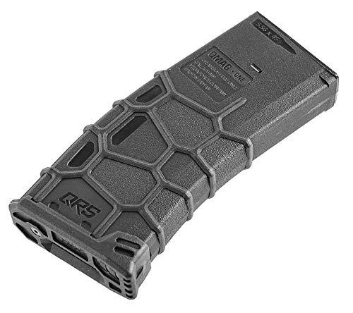 Elite Force Avalon VFC QRS 6mm BB Airsoft Gun Magazine, Black, Hi-Cap (300 Rounds) (2273310)