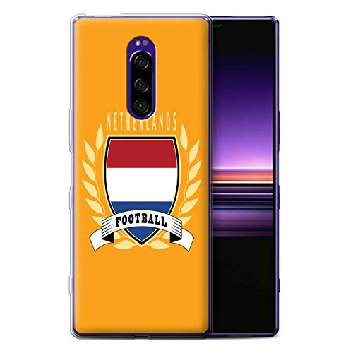 eSwish Telefoon Case/Cover/Skin/SXP-GC/Voetbal Embleem Collectie Sony Xperia 1/XZ4 2019 Netherlands/Dutch