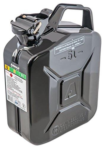 ARNOLD 6011-X1-2000 Metall-Kraftstoffkanister 5L