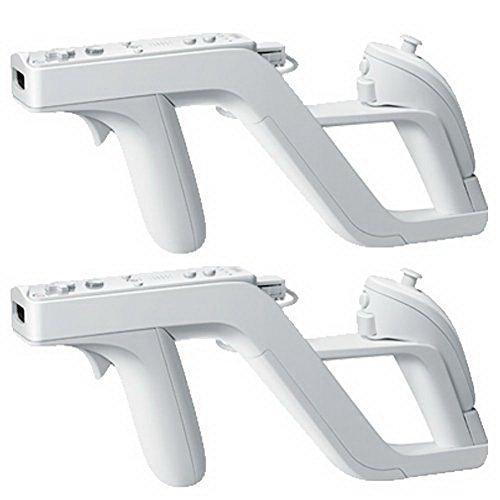 HKWX 2 Pcs Premium Zapper Gun for Nintendo Wii Wireless Remote...
