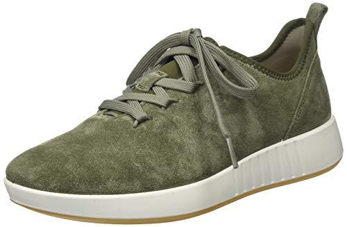 Legero Damen Essence Sneaker, Grün (Dusty Olive) 7200, 40 EU