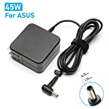45W Laptop Power Supply Charger for ASUS UX305 UX360 UX330 UX330U Q200E C202SA C300SA E402WA Q302L Q504UA Q304U X553M X540 X541 F553M F556U F302 K556 K556U Taichi 21 31 ASUS Notebook AC Adapter