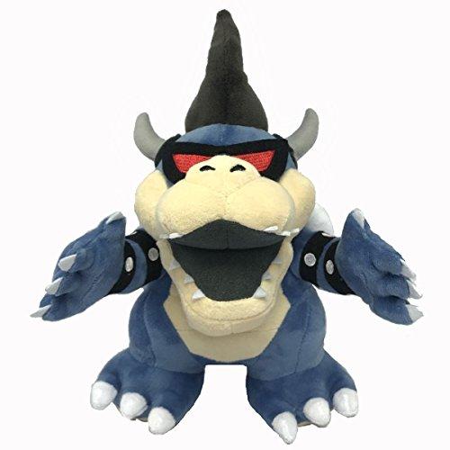 Yijinbo Super Mario Bros Dark Bowser Dark Star Koopa Boss Plüschtier Stofftier 23 cm