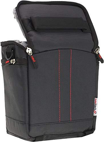 Navitech Black Portable Binocular Shoulder Bag - Compatible with The Eono 10x42 Compact Binoculars