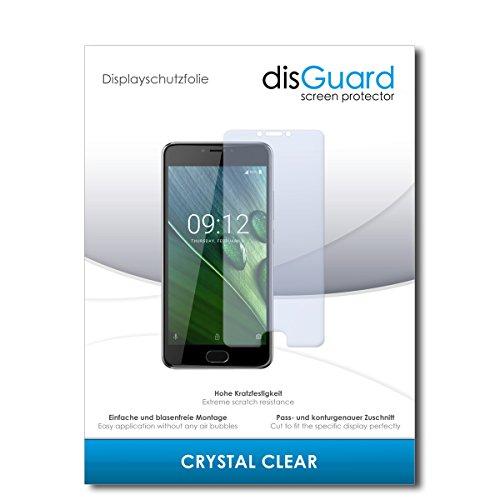 disGuard® Bildschirmschutzfolie [Crystal Clear] kompatibel mit Acer Liquid Z6 Plus [2 Stück] Kristallklar, Transparent, Unsichtbar, Extrem Kratzfest, Anti-Fingerabdruck - Panzerglas Folie, Schutzfolie