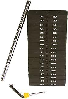 Powertec Fitness Weight Stack, 190-Pound
