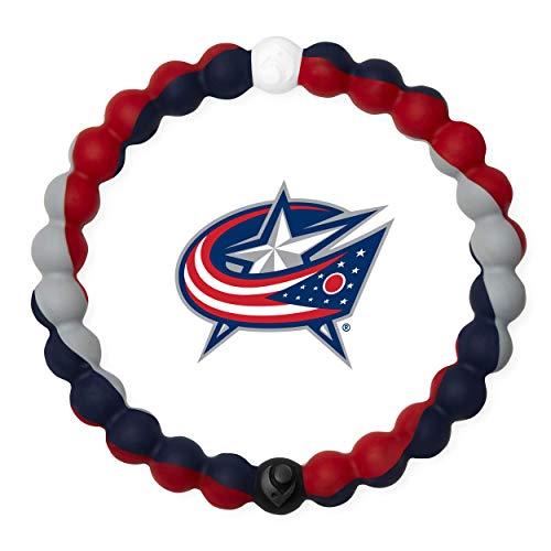 Lokai NHL Collection Bracelet, Columbus Blue Jackets, Size Medium (6.5')