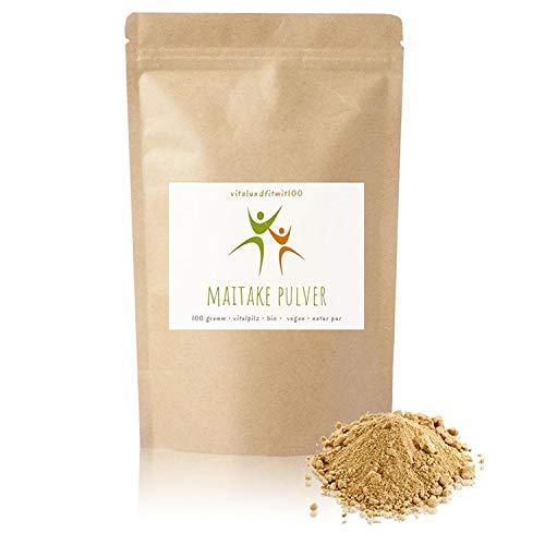 Bio MAITAKE Pulver - 100 g - Grifola frondosa -